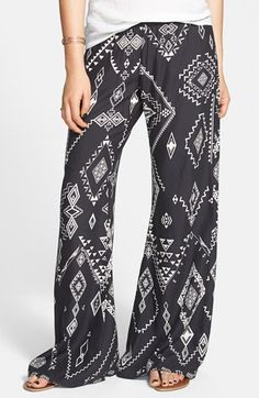 Billabong 'Midnight Hour' Print Beach Pants available at #Nordstrom