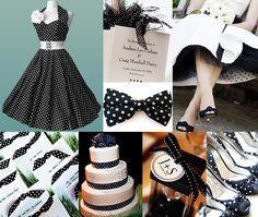 Black-and-White-Polka-Dot-Wedding