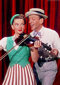 Fred Astaire and Judy Garland