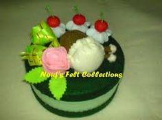 felt roll cake ile ilgili görsel sonucu