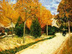 Vincent van Gogh - Park im Herbst, oder der Stadtpark (93,0 x 72,0 cm)
