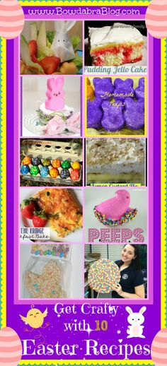 Get Crafty with 10 Easter Food Recipes