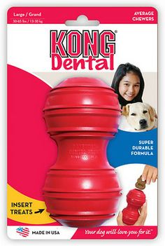 KONG Classic Dental Dog Toy 13.99 FOR XL