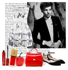 """Louis Tomlinson Style"" by lialondon ❤ liked on Polyvore featuring Gianvito Rossi, Dolce&Gabbana, Tony Moly and Yves Saint Laurent"