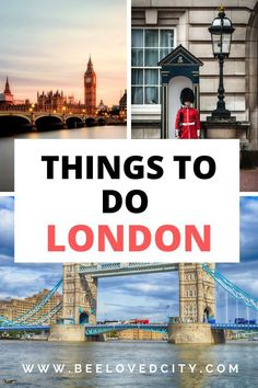 Going to London soon? Discover the best things to do in London! Perfect to organise your travels and your stay in London, England! You will find a mix of touristy and non touristy things to do! Day Trips From London, Things To Do In London, Europe Travel Guide, Travel Guides, Travel Tips, London Must See, England Countryside, London Travel, Plan Your Trip