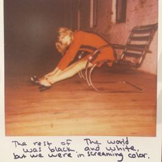 Taylor Swift Polaroid 54 - Out Of The Woods #1989