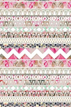 Cute pink pattern found on Pinterest