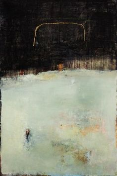 Sharon Booma- - Wise and True - Mixed Media & Panel Abstract Landscape, Abstract Art, Abstract Paintings, Abstract Expressionism, Encaustic Art, Bear Art, Mixed Media Painting, Cool Paintings, Artist Art