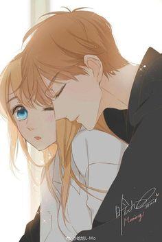 Anime Cupples, Manga Anime Girl, Cool Anime Girl, Anime Films, Anime Chibi, Kawaii Anime, Anime Couples Drawings, Anime Couples Manga, Anime Cherry Blossom