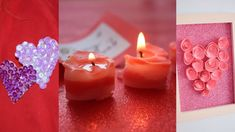 Valentine's Day easy treats and diys! Diy Valentine's Day Room Decor, Valentine's Day Diy, Valentines Diy, Diy Videos, Hello Everyone, Instagram Accounts, Pillar Candles, Diys, Treats