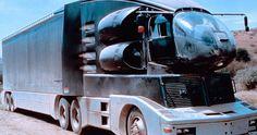 Film Cars, Movie Cars, Tv Spielfilm, Strange Cars, Future Trucks, Big Rig Trucks, Mack Trucks, Semi Trucks, Custom Big Rigs
