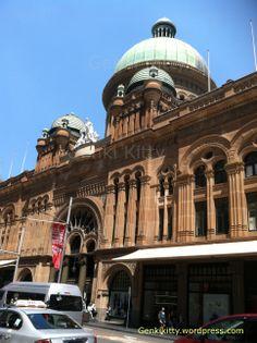 Queen Victoria mall and train station in Sydney, Australia
