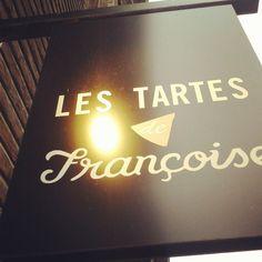 Les Tartes de Francoise, best cakes and quiches!