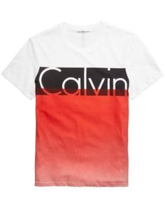 8a01ed4a9 Calvin Klein Jeans Men's Colorblocked Graphic-Print T-Shirt Men - T-Shirts  - Macy's