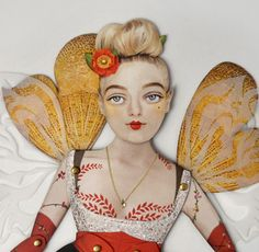 Paper Puppet Doll By Crankberry.