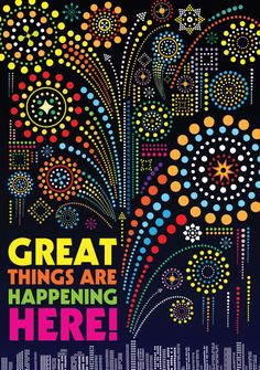 Great Things Are Happening Here! #poster #inspiration #classroomdecor #illustration #skyline Classroom Supplies, Classroom Themes, Stars Classroom, Pop Charts, Teaching Quotes, Class Decoration, My Philosophy, Collaborative Art, Quotes For Students
