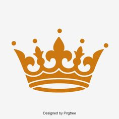 Vector hand painted crown PNG and PSD Crown Pattern, Gold Pattern, Vector Hand, Vector Clipart, Background Banner, Background Patterns, Coroa Tattoo, Jewelry Banner, King Pic