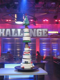 "Food Network Challenge ""Giant Wedding Cakes"" www.sublimebakery.com"