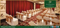 Conference accommodation at Golden Palms Hotel & Spa, Delhi, is equipped with all the required amenities, ensuring that your conference runs smoothly and proficiently. Visit: www.goldenpalmshotel.com for more details #MagnificentMondays