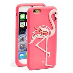 Kate Spade Flamingo IPhone 6/6s Case Brand new with tags Kate Spade Flamingo silicon case for iPhone 6/6s - PRICE FIRM - NO TRADES kate spade Accessories Phone Cases