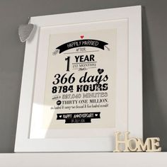 1st Wedding Anniversary Paper Gifts Gettingpersonal