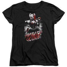 Batman Arkham Knight/Quinn City Short Sleeve Women's Tee