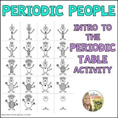 This Periodic People activity is my favorite way to introduce the periodic table to my middle school science students! Grab this freebie activity here! Chemistry Classroom, High School Chemistry, Teaching Chemistry, Chemistry Lessons, Science Chemistry, Science Student, Middle School Science, Physical Science, Science Lessons