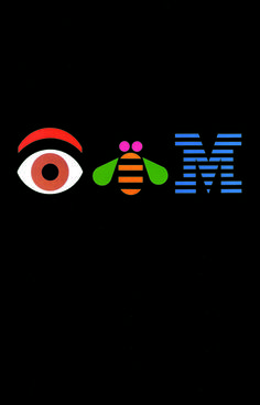 Paul Rand    http://blog.gdusa.com/top-10-poster-designs-of-the-past-50-years/    H025 IBM