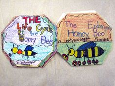 Hoping to try this with our bee life cycle lesson this week!  We'll see how well it works... Bookmaking with kids -bee life cycle (with a mistake)