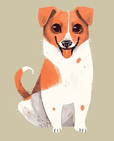 chervellefryer:  A happy chappy Jackie.They are surprisingly good dogs in the right hands and are very quirky little dogs. I now have 6 breeds down! Also I'm still open for breed suggestions and commissions :D!