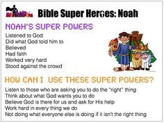 I love that they are making ordinary people in the bible in to super heros then showing how we can relate also!