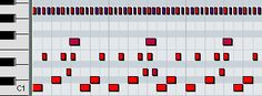 2step drum pattern