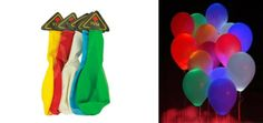 $10 for 10 LED Light Up Balloons - Tax Included! ($29 Value)