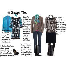 """H Shape tips"", Imogen Lamport, Wardrobe Therapy, Inside out Style blog, Bespoke Image, Image Consultant, Colour Analysis"