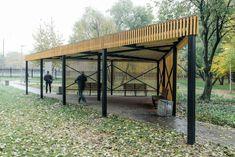Pergola, Outdoor Structures, Landscape, Architecture, Projects, Arquitetura, Log Projects, Landscape Paintings, Architecture Design