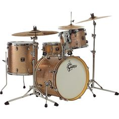 Gretsch Catalina Club 4-piece in Copper Sparkle. Yes, please.