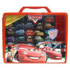Disney Cars2 Race and Display Case (Want to get this for all of Big D's new toys)