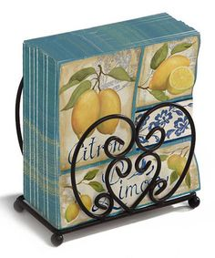 Take a look at this Cypress Home Scroll Guest Napkin Holder by Cypress Home on #zulily today!