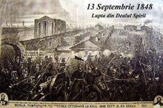 13 Septembrie 1848 + Bătălia  din Dealul Spirii - Bucuresti