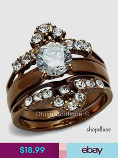 Engagement & Wedding Ring Sets Jewelry & Watches