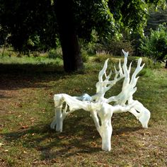 Mycelium Chair by Eric Klarenbeek is 3D-printed with living fungus.Join the 3D Printing Conversation: http://www.fuelyourproductdesign.com/