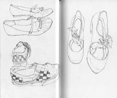 deanna staffo, sketchbook (shoes page 2)