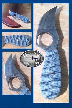 Cold Steel Outdoors.  World Class Damascus Steel Hunting Knives. http://coldsteeloutdoors.com/collections/damascus-steel-knives
