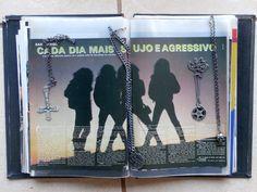 My old Sarcofago GODZZZ publishing in Brazilian magazines...666.