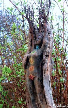 Driftwood Spirit Sculptures by Debra Bernier by ShapingSpirit