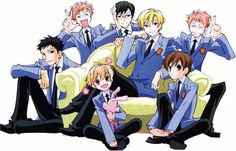 Ouran High School Host Club Love this Anime!