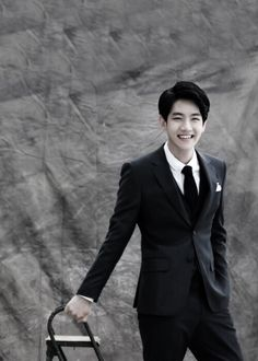 Baekhyun with that mega smile! I want to see him smile like this more often