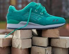 Ronnie Fieg ASICS Gel-Lyte III mint green