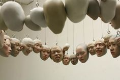 Creepy-Beautiful-Unique Sculptures: ปะติมากรรมเหมือนจริงที่จะหลอนอยู่ในความทรงจำตลอดไป - PORTFOLIOS*NET