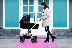 The Infababy PRIMO i-Size travel system in Gold colour is ultra-modern, ultra sleek and lightweight. Gold Colour, Changing Bag, Travel System, Prams, Folded Up, My Size, New Product, Baby Strollers, Car Seats